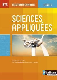Sciences appliquées : BTS électrotechnique. Volume 2