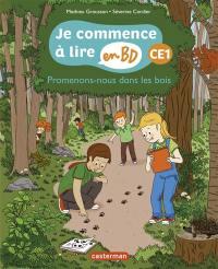 Je commence à lire en BD, Promenons-nous dans les bois
