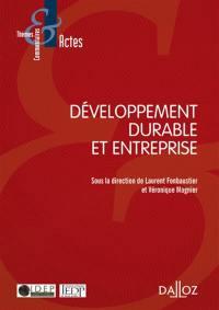 Développement durable et entreprise