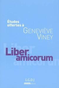 Etudes offertes à Geneviève Viney
