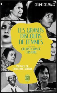 Les grands discours de femmes qui ont changé l'histoire : document