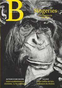 Revue de la Bibliothèque nationale de France. n° 61, Singeries