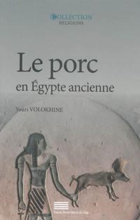 Le porc en Egypte ancienne