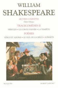 Tragicomédies 2, poésies,
