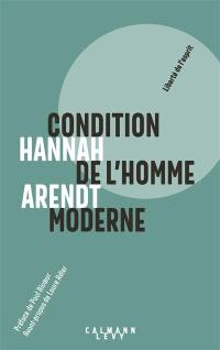 Condition de l'homme moderne