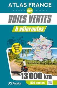Atlas France des voies vertes & véloroutes