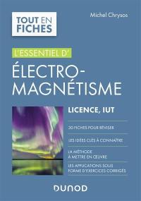 L'essentiel d'électromagnétisme