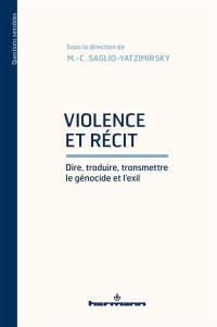 Violence et récit