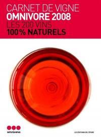 Carnet de vigne Omnivore 1re cuvée