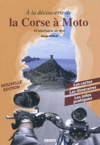 A la découverte de la Corse à moto