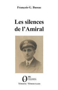Les silences de l'amiral
