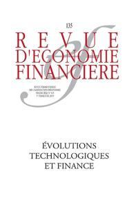 Revue d'économie financière. n° 135, Technologies et mutations de l'activité financière