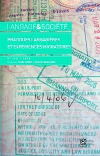Langage et société. n° 165, Pratiques langagières et expériences migratoires