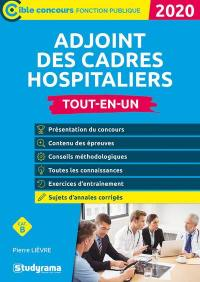 Adjoint des cadres hospitaliers, cat. B