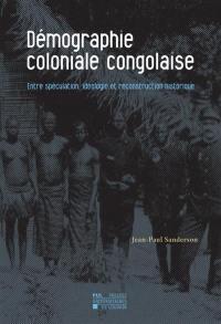 Démographie coloniale congolaise