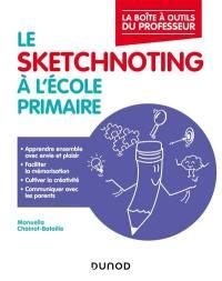 Le sketchnoting à l'école, cycles 1 à 3
