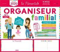 Organiseur familial Mémoniak, calendrier 2020