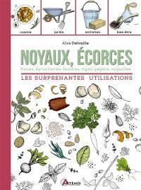 Noyaux, écorces, fanes, épluchures, feuilles, tiges, pépins, coquilles
