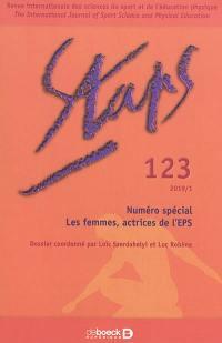 Staps. n° 123, Les femmes, actrices de l'EPS