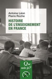 Histoire de l'enseignement en France