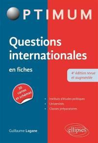 Questions internationales en fiches