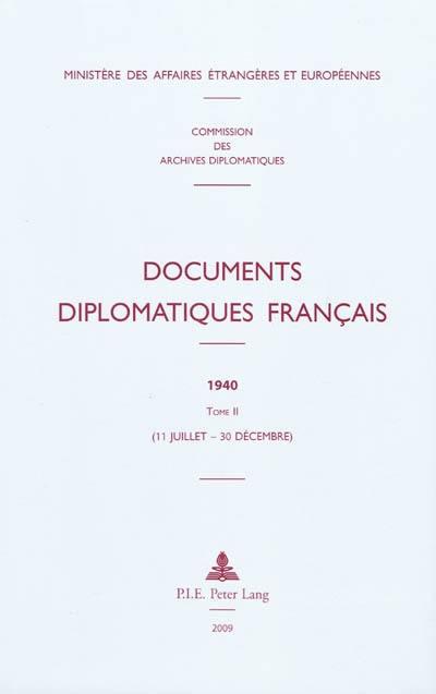 Documents diplomatiques français. Volume 2, 11 juillet-3 décembre