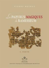 Les papyrus magiques du Ramesseum