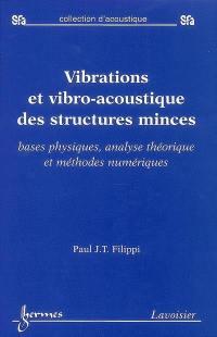 Vibrations et vibro-acoustique des structures minces