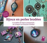 Bijoux en perles brodées