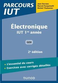 Electronique IUT 1re année