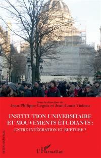 Institution universitaire et mouvements étudiants