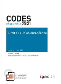 Droit de l'Union européenne 2021