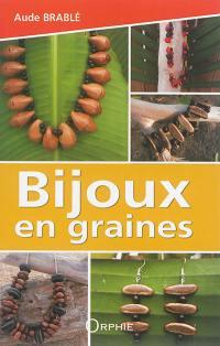 Bijoux en graines