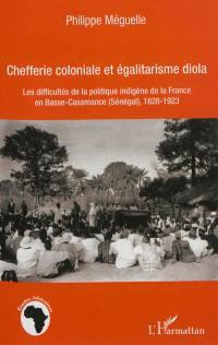 Chefferie coloniale et égalitarisme diola