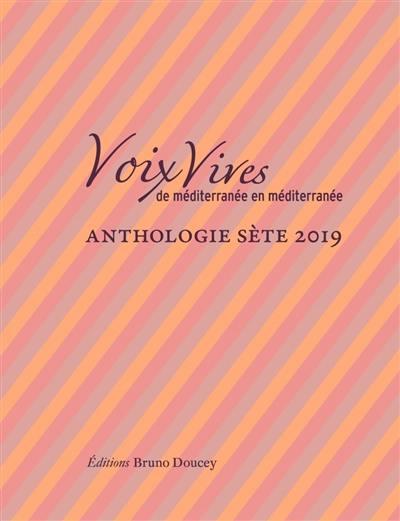 Anthologie Sète 2019