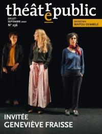 Théâtre-public. n° 236, Invitée Geneviève Fraisse