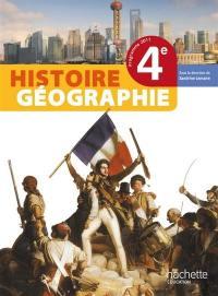 Histoire-géographie 4e, programme 2011 : livre de l'élève : format compact