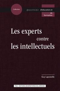 Les experts contre les intellectuels