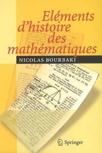 Eléments d'histoire des mathématiques