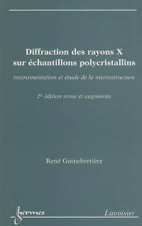 Diffraction des rayons X sur échantillons polycristallins