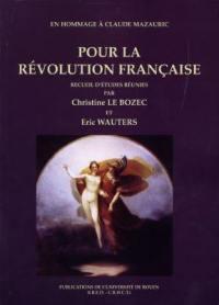Pour la Révolution française