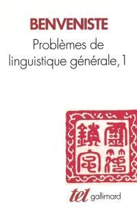 Problèmes de linguistique générale. Volume 1,