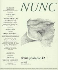 Nunc. n° 42, Poésie israélienne
