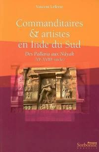 Commanditaires et artistes en Inde du Sud