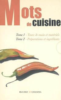 Mots de cuisine