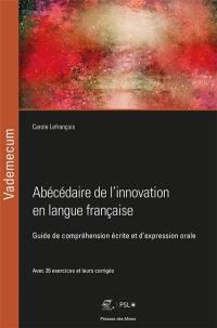Abécédaire de l'innovation en langue française