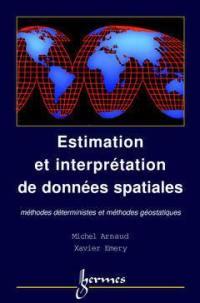 Estimation et interpolation de données spatiales