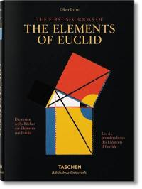 The first six books of The elements of Euclid,
