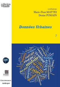 Données urbaines. Volume 7,