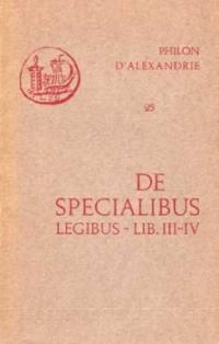 De specialibus legibus